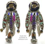 Ayala Bar Plum Royale Earrings