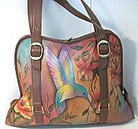 Anuschka Flying Jewels Shapely Bag (retired)