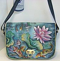 Anuschka Karmic Koi Flap Bag (retired)