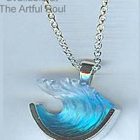 Bezak Sterling Medium Wave Pendant