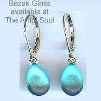 Bezak 14ky Blue Earring Drops