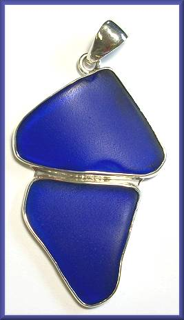 Charles Albert Beach Glass Pendant