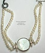 Donna Chambers SS Round Pearl Bracelet