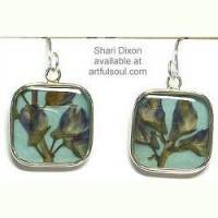 Shari Dixon Lupine Earrings