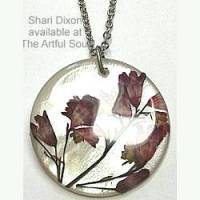 Shari Dixon Coral Bell Necklace