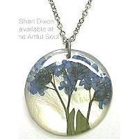 Shari Dixon Forget Me Not Necklace