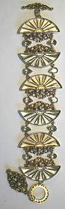 Mars & Valentine Fans of Glass Bracelet