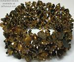 Enchanted Brown Flat Bracelet