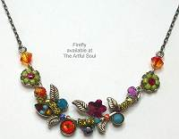 Firefly Petite Scallop Flower Necklace