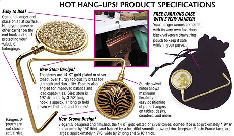Hot Hang-Ups! Specifications Text