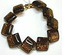 Kim Kole Golden Brown Bracelet