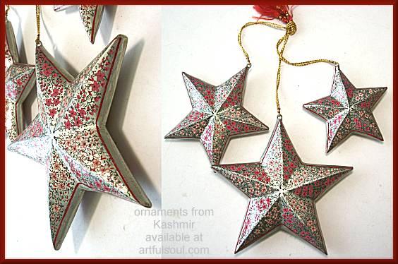 Kashmir Star Ornament #B