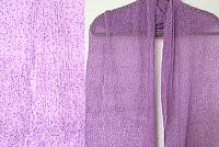 Lost River Long Knit Scarf, Lilac