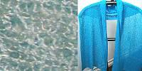 Lost River Long Knit Scarf, Sky Blue