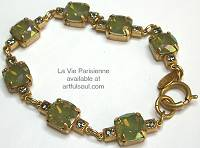 La Vie Golden Celadon Bracelet