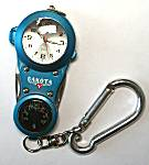 Dakota Watch, Aqua with File/Knife/Magnifier/Therm
