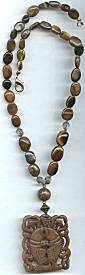 Brown Jade Necklace
