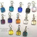 Emily Ray Hoopla Crystal Cube Ear Charms