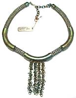 Sarah Cavender Tubes and Tassels Necklace