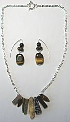 Tweak Jewelry in Brown & Black Gemstones