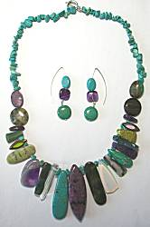 Tweak Jewelry in Turquoise & Purple Gemstones