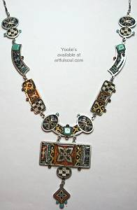 Yoolies Arte Del Mosaico Necklace